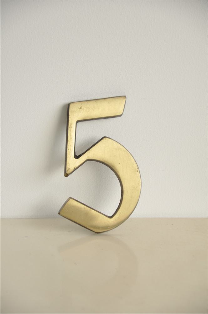 Good Quality stainless steel house number With Good Quality
