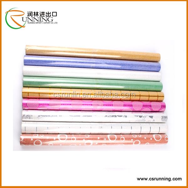 color transparent vinyl plastic film colored PVC self adhesive film ...