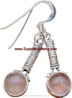 Fashion Jewellery Wholesale Online Silver Jewelry Beads Sterling Gemstone Earrings