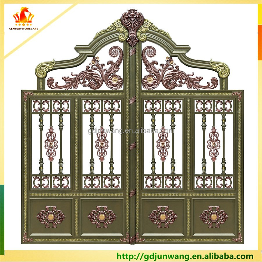 Alibaba China Simple Aluminum Pipe Gate Design/gate Grill Fence ...