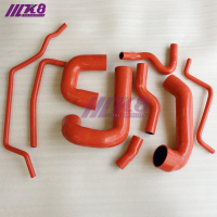 Silicone Boost Turbo Hose Kit for SAAB 93 03-07 (9Pcs) Red/Blue/Black