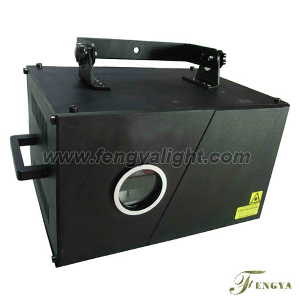 2w single green laser stage lighting