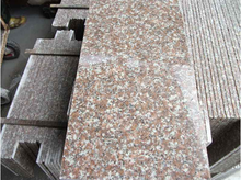 Low price red granite g687 slab/tile with low price