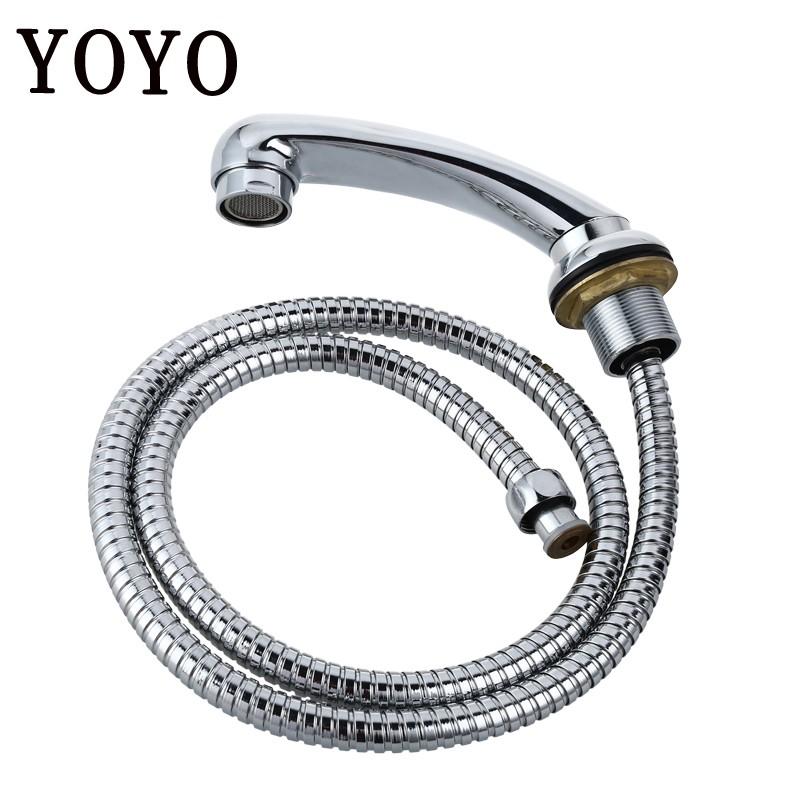 news design beauty salon shampoo chair shower head and shower pipe yos008b