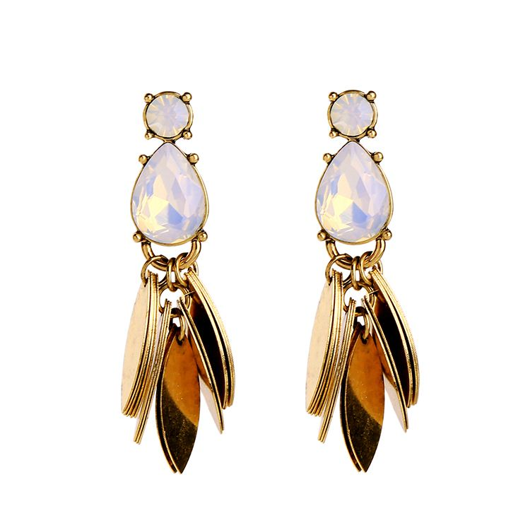 Artilady wholesale jewelry crystal online shopping artificial jhumke earring jewellery for sale
