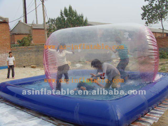 amusement park inflatable toy water filled balls