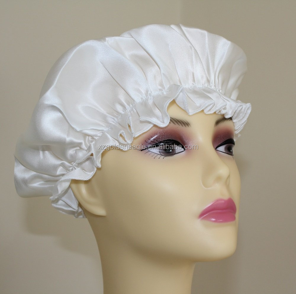 Pure Silk Sleep Cap Bonnet-Factory Directly Selling