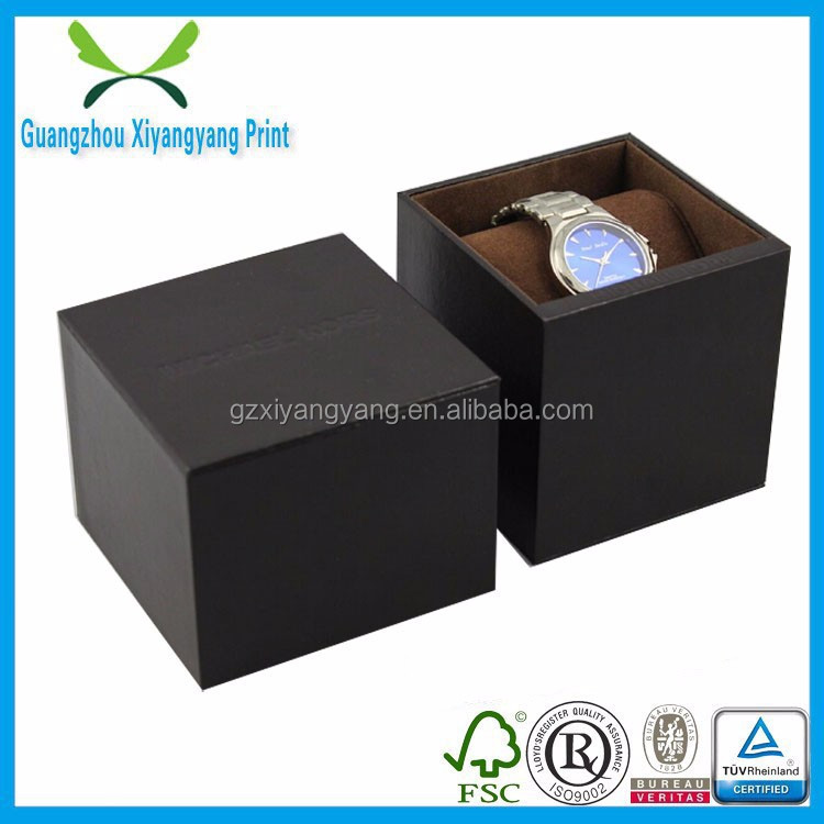 Business high grade square men watch packing box