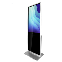 43 Inch Interactive Magic Mirror Floor Stand Portable Lcd Digital Signage