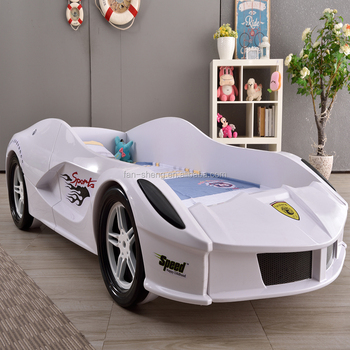 free shipping high quality kids furniture race car racing car bed kids furniture car