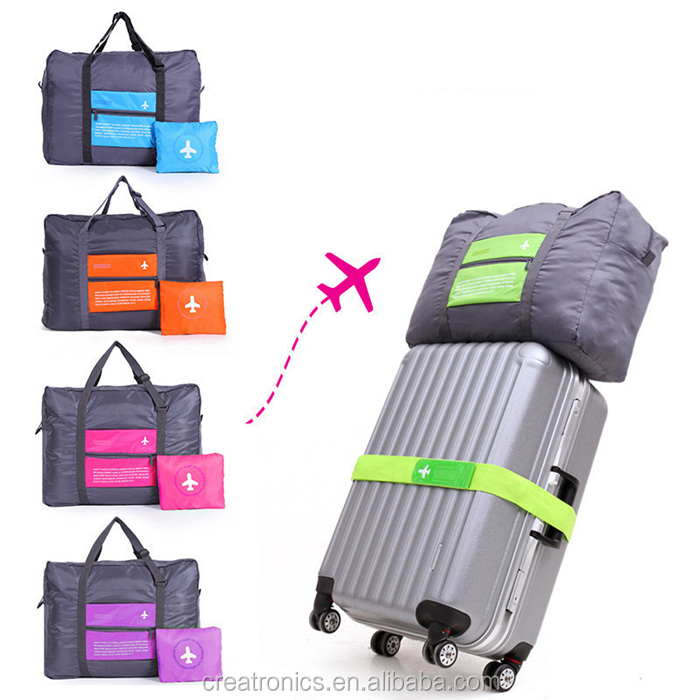High quality water resistant foldable Travel Bag, folding travel bag, expandable travel bag
