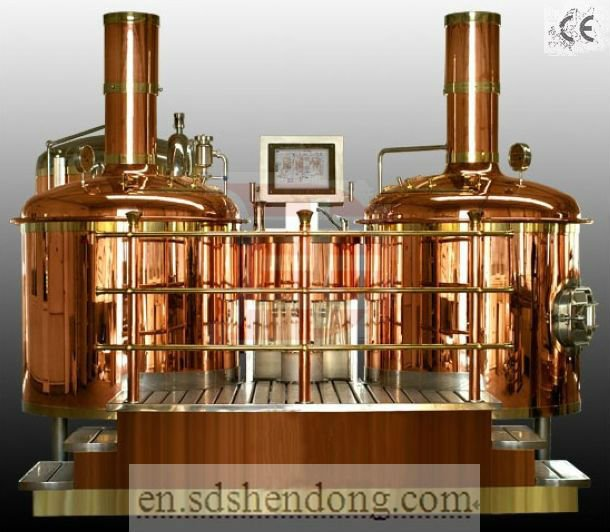 3bbl Used Mini Brewed Equipment Brewing System Luxury