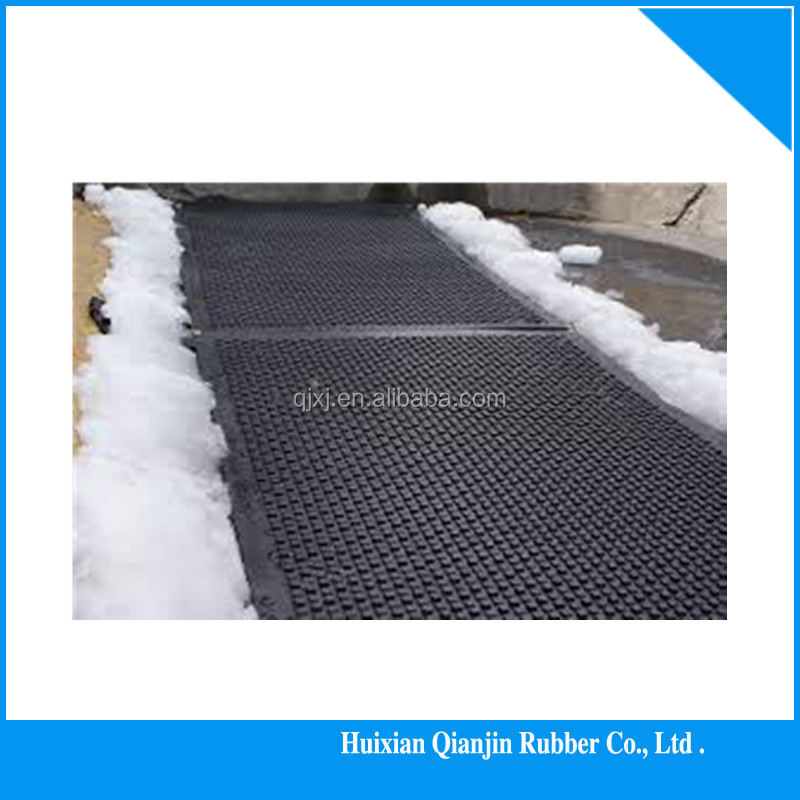 rubber mat outdoor rubber driveway mats of China manufacturer