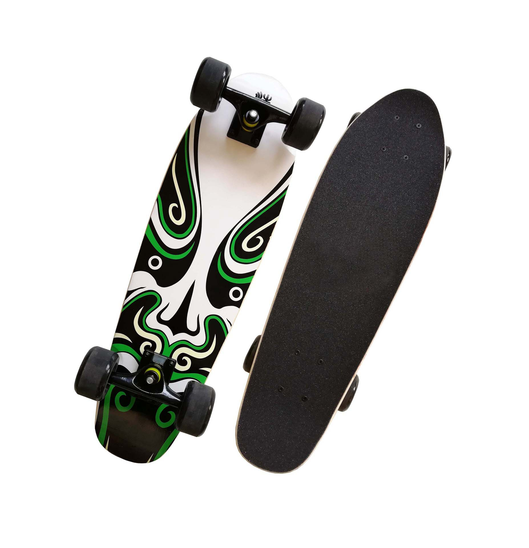 Wholesale maple cruiser skateboard custom super cruiser longboard skateboard
