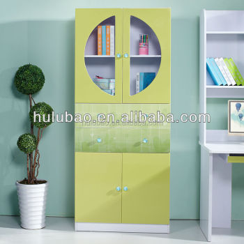 Children Library Furniture Kids Bookcase Book Shelf Room Cabinet