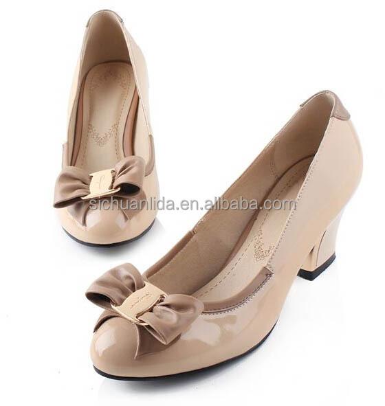 Wholesale fashion ladies shoes 2014 beautiful ladies dress shoes ...
