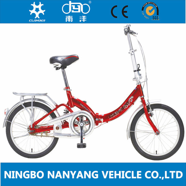"16"" steel good quality folding bike bicycle / lightweight aluminum folding bike / mini bike"