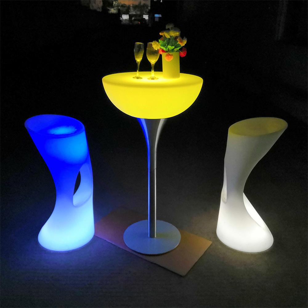 high <strong>bar</strong> cocktail table cloth for wedding / waterproof wedding <strong>bar</strong> glowing <strong>bar</strong> illuminated led cocktail table
