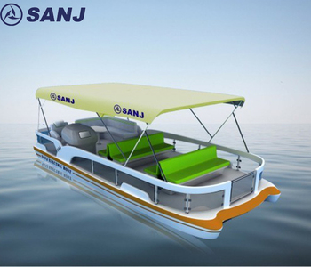 Chinese Pontoon Paddle Boat For Sale View Pontoon Paddle Boat Sanj Product Details From Hubei Sanjiang Boats Science Technology Co Ltd On