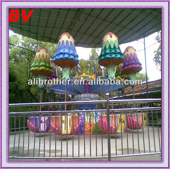 Alibaba fr park funny family rides equipment Happy Jellyfish