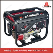 Lingben Generator 3kv 220V Voltage 7.0HP Key Start LB3000