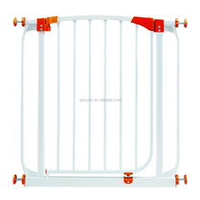 Baby Gate Safety Door Metal Walk Thru Pet Dog Cat Fence Child Toddler