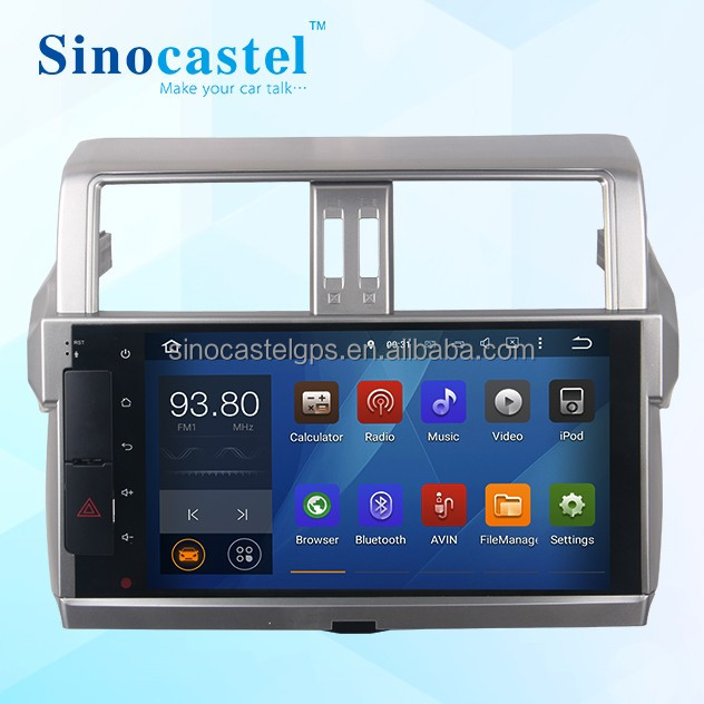 Touch Screen Used GPS Audio Car System <strong>Toyota</strong> <strong>Prado</strong> 2014/2015/2016 Support iPod Charging & Playing With CE Certificate