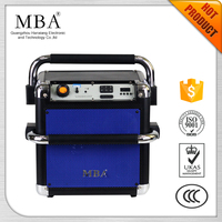 China Factory Supply Cheap 6-inched Bass Portable Speaker with USB SD BT FM Remote control