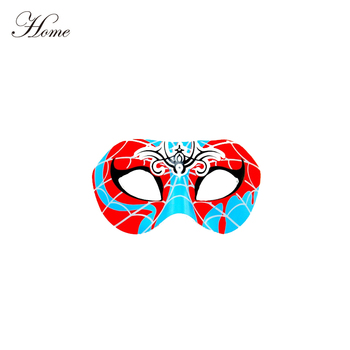 spider man half face ball mask fancy decoration for carnival cartoon