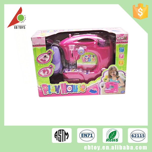 Beauty Colors Girl Home Play Battery Operated Plastic Sewing ...