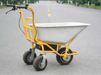 Electric Garden Hand Cart For Material Handling