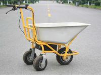 Electric Garden Hand Cart For Material Handling