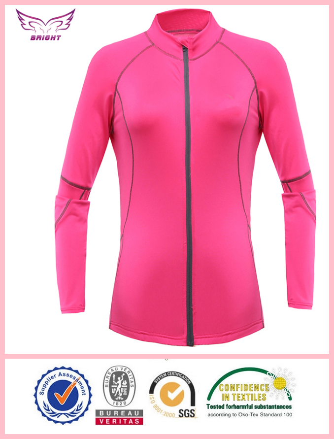 OEM wholesale women bright red <strong>cycling</strong> top women tight <strong>cycling</strong> top hot sale women long sleeve <strong>cycling</strong> top