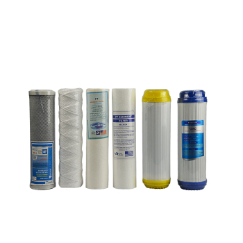 Sediment filter cartridge with 5 micron and pp filter cartridge