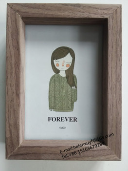 Double Side Look 4x6 Mdf Photo Frame With Wooden Paper Buy Photo Framemdf Photo Framewooden Photo Frame Product On Alibabacom
