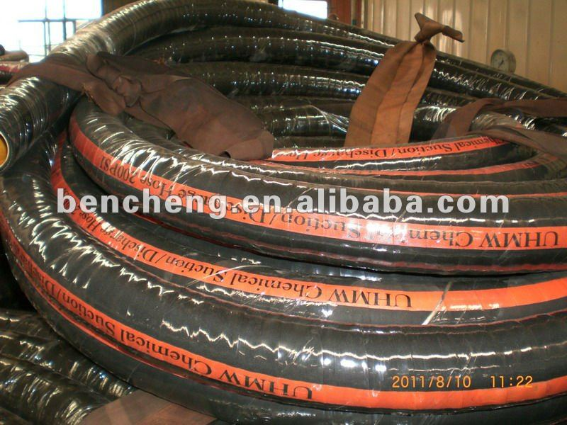 UHMW chemical suction and discharge hose