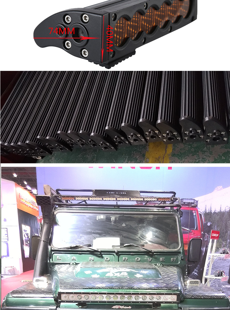 HANTU low MOQ New products color changing led light bar police light bar led