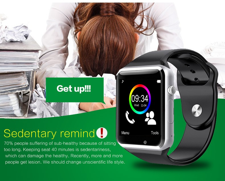 Oem Manufacturing 2019 Amazon Best Selling Smart Watch Phone Gt08 Dz09 A1  Sport Smartwatch V8 Y1 With Sim Card Slot - Buy A1 Smart Watch,Smartwatch