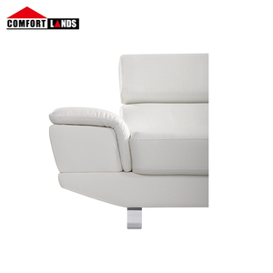 White L Shaped Leather Sofa White L Shaped Leather Sofa Suppliers