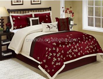 Comforter Sets Queen.Microfiber Polyester Patchwork Baby Quilt Bedding Sets Queen