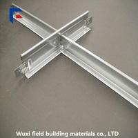 Painting aluminum T bar suspended ceiling grid