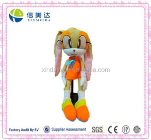 Popular SONIC hedgehog plush doll toy for sale