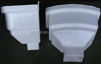 Leader Head Pvc Rain Water Gutter Roof Drainage System