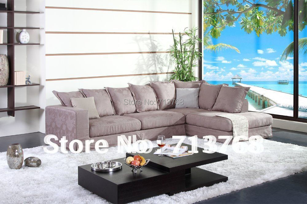 100%cotton Washable fabric Modern furniture couch / living