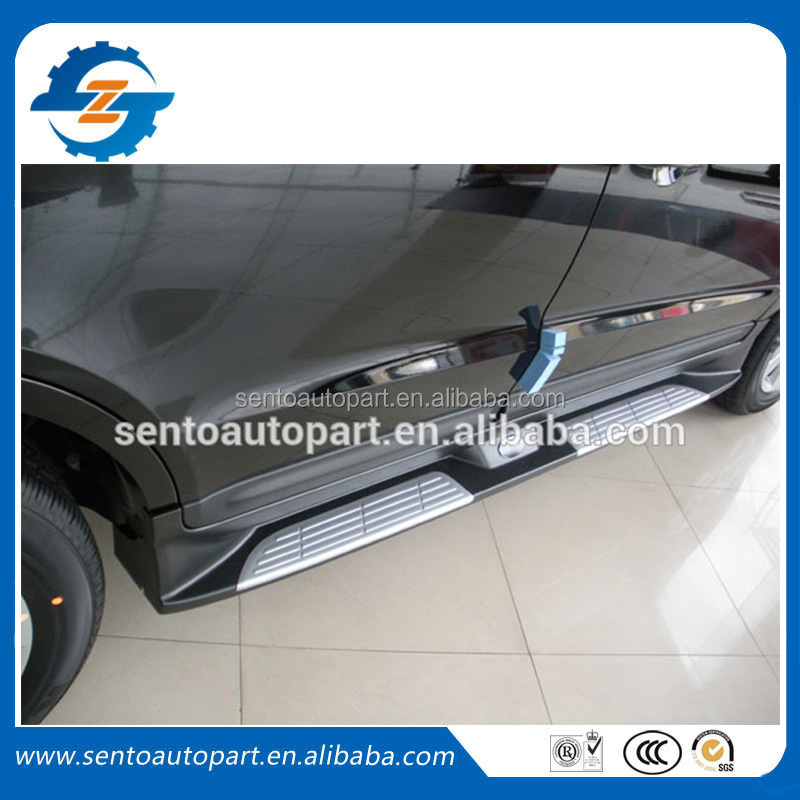 Side Step Bar for Santafee, Side Running Board For Santafe 2007