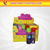 Colorful Party String/crazy String/silly String Spray