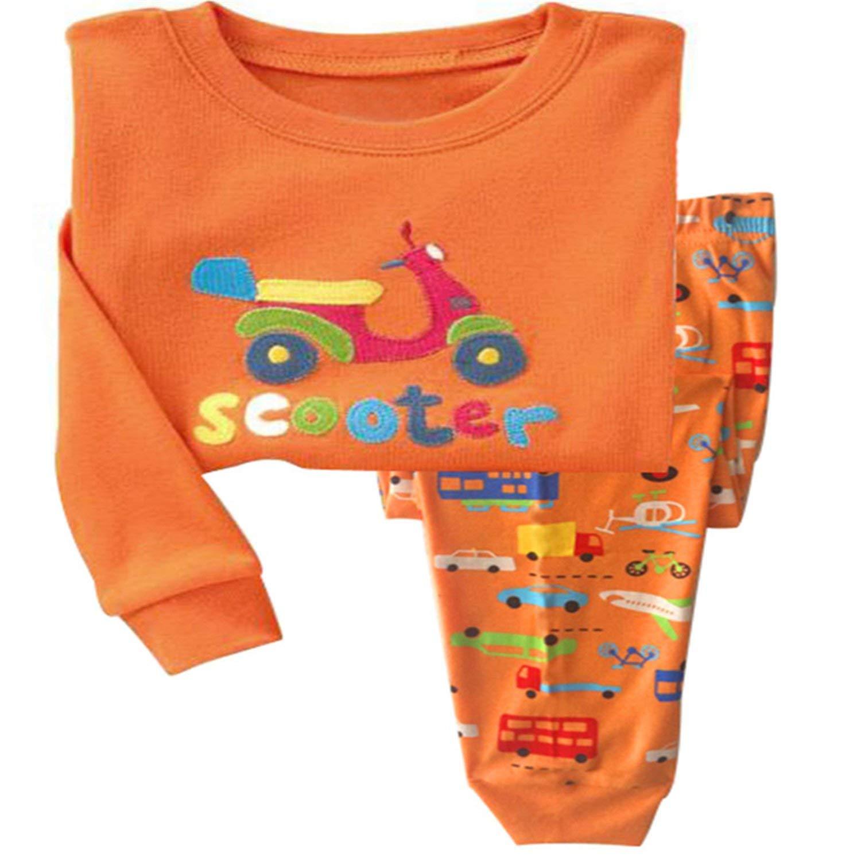 897467573596 Buy Kateirmaso Children Pajamas Set Boys Cartoon Dinosaur Pyjamas ...