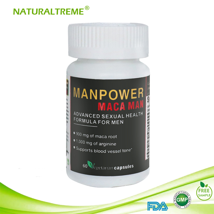 Herb Maca Root Gingko Biloba Extract Tablet Man Power Herbal
