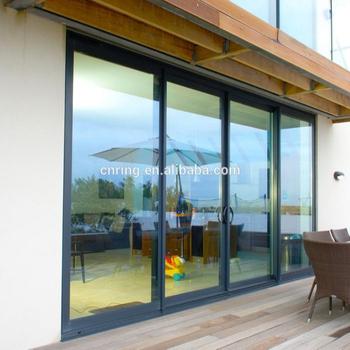 Tragbare Balkon Schiebet/ürgriff Aluminiumlegierung Push Color : 1pcs Dark Gray und Pull-T/ürgriff aus Kunststoff Stahlt/ür und Fenster Handler dauerhaft