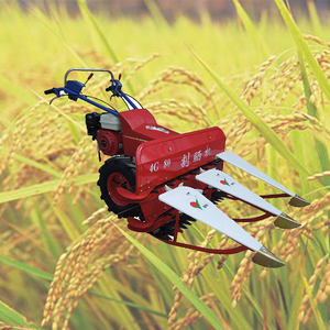 Agricultural machinery rice straw reaper